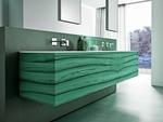 модернистични  проектиране на шкафове за баня