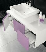 мебели за баня по индивидуален проект модернистични